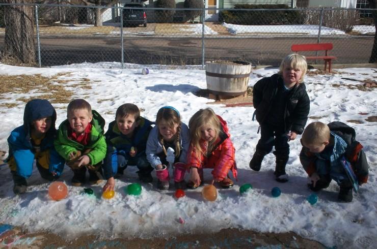 Open School playground fun